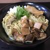 煮干らー麺シロクロ - 料理写真:濃厚油そば(Before)