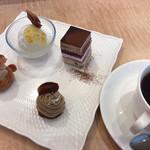 カタシマ - ★★★★ それぞれ食感も味も変化があって美味しい!