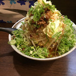 麺屋 愛0028 - 辛みそラーメン、野菜ましあ、ネギ