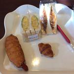 パニフィエ - 料理写真:購入したパン