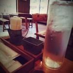 農園レストラン タコ ヒストリア 871 - お冷。