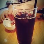 農園レストラン タコ ヒストリア 871 - アイスコーヒー。