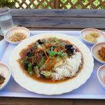 ソウル - 料理写真:チャプチェトッパプ