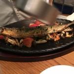 五反田漁師バル - 秋刀魚のやわらかコンフィ ブランチャ風