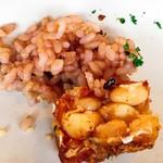 レストラン エイタブリッシュ - テンペと玄米