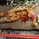 魚貝三昧 げん屋 - さんま塩焼