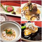 神楽坂 割烹 加賀 個室と会席接待の宴会処 - お造り、大根、焼魚、白子