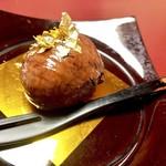 神楽坂 割烹 加賀 個室と会席接待の宴会処 - 栗のデザート