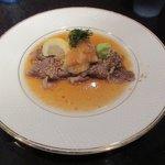 いーすと - 宮崎牛の薄切りステーキ