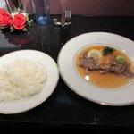 いーすと - 宮崎牛の薄切りステーキ&ライス