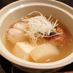 禅紫 - 金目鯛のスープ
