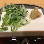 元咲 - 料理写真:冷やっこ¥300(税別)