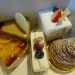 94665470 - 購入したケーキ