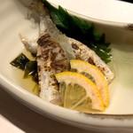 近畿大学水産研究所 - 本日の近大鮮魚と菊の酢の物