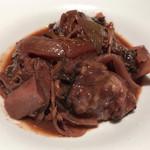 丿貫 - 丿貫(赤鶏と仏産天然茸の赤ワイン煮込み)