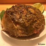 粋・丸新 - 料理写真:毛蟹の甲羅盛の蟹味噌焼