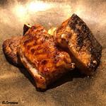 94667972 - 天然鰻のつけ焼に焼松茸
