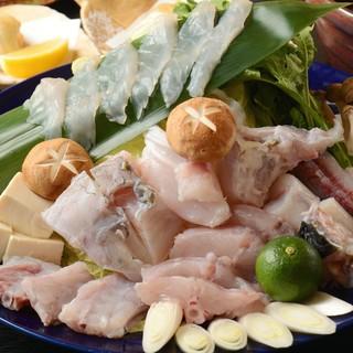 ★季節の味覚、「ふぐ」「鍋」をお楽しみください。