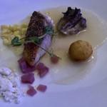 Azure Restaurant - Crispy Skinned Pier 38 Fish Pier38