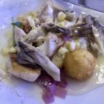 Azure Restaurant - 混ぜて頂きます。