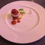 Azure Restaurant - Meyer Lemon Cheesecake