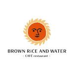 BROWN RICE AND WATER - メイン写真:
