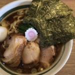 バードメン - 生姜醤油ラーメン  750円
