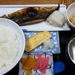 華厳 - サバ塩焼き定食