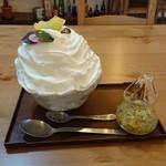 94681940 - キウイヨーグルトエスプーマ氷(800円)