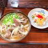 枡うどん - 料理写真:肉うどん(大)&チラシ寿司