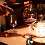 ROTISSERIE★BLUE - 年代物のワインも