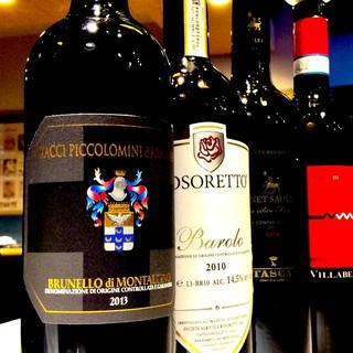 イタリア全州のワインを