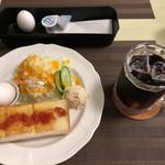 喫茶きらり - 料理写真:モーニング(シンプルセット)