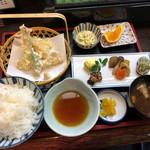 はま友 - 料理写真:天ぷらランチ(980円)