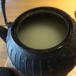 玄 田むら - 蕎麦湯