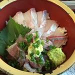 タカマル鮮魚店 - Wあじ丼