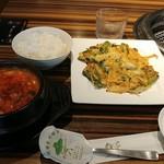 焼肉 韓国料理 NIKUZO - チヂミ&スンドゥブのランチ