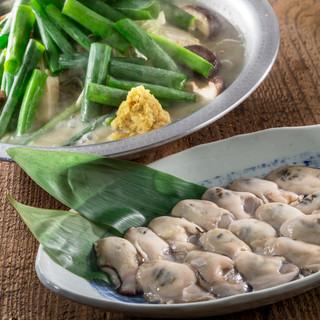 牡蠣粕味噌生姜鍋