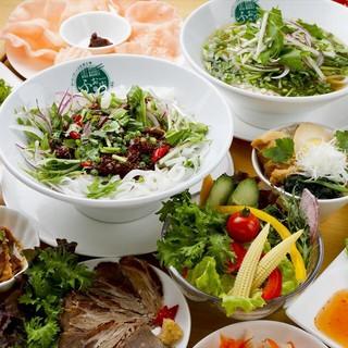 天然水を使ったふぉー。ベトナム料理の定番です!