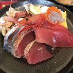 渥美の丼屋 まるみ - 朝獲れの白魚が絶品でした。(^^)