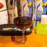 山梨レストラン メリメロ - おらんとうのワイン赤