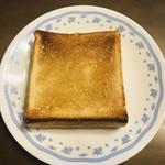 一本堂 - 料理写真:トーストに蜂蜜