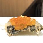天ぷらとワイン大塩 - 海苔がなぁ…