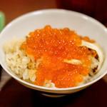 神楽坂 阿部 - いくらご飯