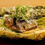 神楽坂 阿部 - 秋刀魚焼き