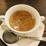 ごはんカフェ SHIMADAKE - BLTサンドのセット