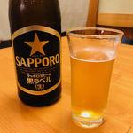 94698604 - サッポロ瓶ビールで乾杯!