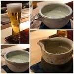 菊鮨 - ビール、横山五十(好きなお酒)、あらまさ(秋田:コレ美味しい)、日高見