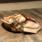 菊鮨 - 煮蛤(九十九里)・・何時もながらの安定した美味しさ。