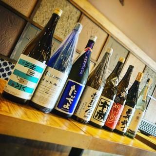 地元新潟から直送の日本酒